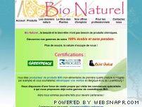 Bio Naturel - La nature vous dit merci, votre peau aussi ..